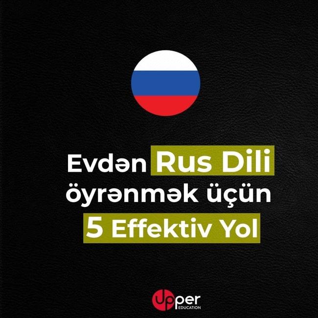 Rus Dili Oyrənməyin Effektiv 5 Yolu Rus Dili Kitabi